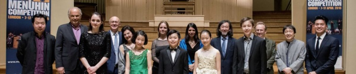 Junior Finalists with jury