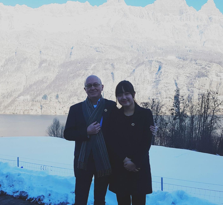 SongHa & Gordon in Davos