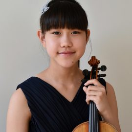 Prizewinners of the Menuhin Competition London 2018