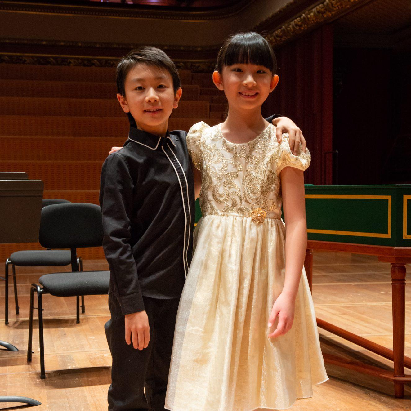 Christian Li and Chloe Chua