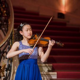 Clara Shen in concert at the Bode Museum, Berlin
