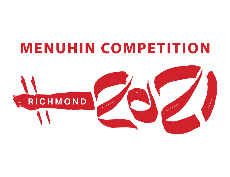 Menuhin Competition Richmond 2021 red