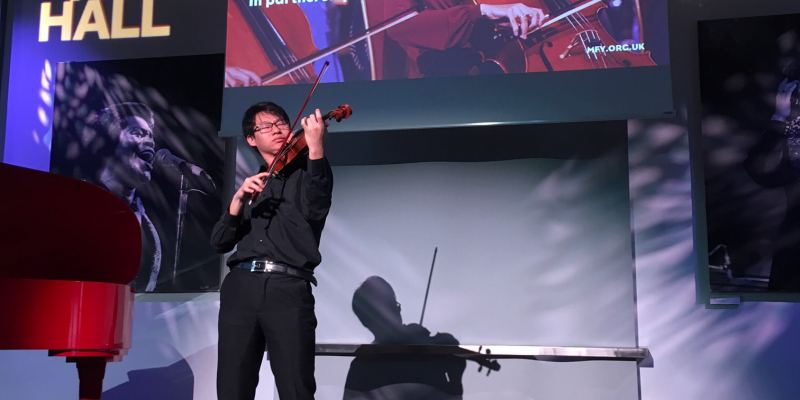 Tianyou Ma in concert at Music for Youth Proms