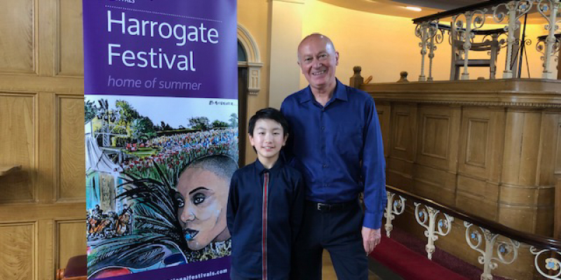 Christian Li in concert at Harrogate International Festival