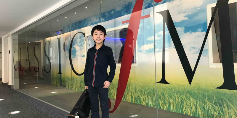 Christian Li at Classic FM